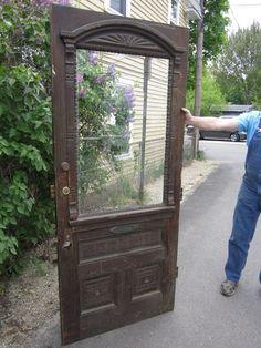 Antique Exterior Door from the 1800\'s | Doors, Architectural salvage ...