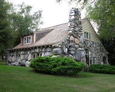 Charlevoix, Michigan Boulder Manor, an Earl Young creation.