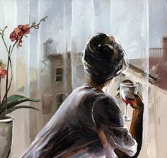 paintings by Victor Bauer