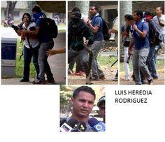 RECONÓCELO: Luis Heredia Rodríguez, el cobarde terrorista del PSUV que agredió a la periodista de México. 3A