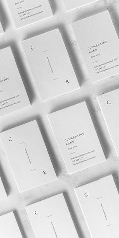 Clementine Business Card Template — The Denizen Co Credit Card Design, Name Card Design, Design Cards, Business Cards Layout, Letterpress Business Cards, Square Business Cards, Business Card Logo, Minimalist Business Cards, Modern Business Cards
