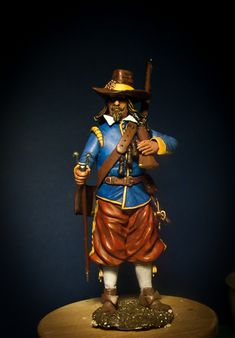 Musketeer XIIc toy soldiers for collectors