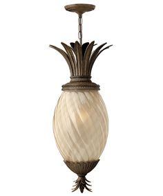 Hinkley Lighting 2122 Plantation Exterior 1 Light Outdoor Hanging Lantern
