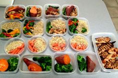 my nutritious dish: meal prep ::  A really nice guideline for meal prep for clean eating.  I like making my fingers fresh, but this isn't a terrible idea for some nights or lunch.