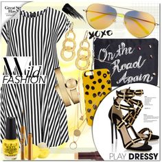 Play Dressy by stacey-lynne on Polyvore featuring polyvore fashion style Choise Paul Andrew Venessa Arizaga Movado Gurhan Maison Margiela Matthew Williamson Marc by Marc Jacobs Urban Decay Fashion Fair Eos