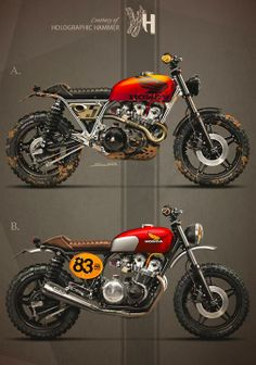 1983 HONDA CB 750 by Holographic Hammer