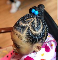 Hairstyles For Kids Black Children Hair Baby Girl Hairstyles, Kids Braided Hairstyles, Princess Hairstyles, Cute Hairstyles, Black Children Hairstyles, Braids For Kids, Girls Braids, Kid Braids, Tree Braids