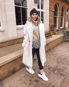"7954ec94a359 Sophie Kirby on Instagram  ""I have literally lived in this  quizclothing  coat travelling around to see family this Christmas"