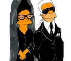 Lagerfeld-Simpsons