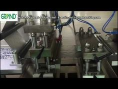 PVC/ALU capsule packing machine with automatic feeding system