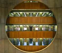 The Class of 1945 Library, Louis I. Kahn, Phillips Exeter Academy, New Hampshire