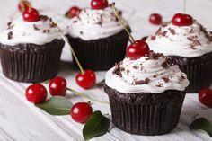 Mennyei Fekete-erdő muffin