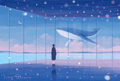 Cute Desktop Wallpaper, Aesthetic Desktop Wallpaper, Anime Scenery Wallpaper, Aesthetic Backgrounds, Wallpaper Backgrounds, Cute Cartoon Wallpapers, Animes Wallpapers, Sky Aesthetic, Aesthetic Anime