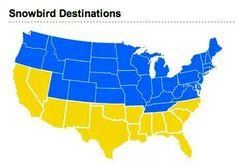 Snowbird-friendly RV Resorts along America's Sunbelt: http://www.GoodSamClub.com/Snowbird/