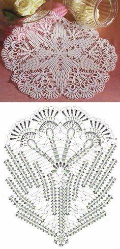 Captivating All About Crochet Ideas. Awe Inspiring All About Crochet Ideas. Crochet Doily Diagram, Crochet Doily Patterns, Crochet Mandala, Thread Crochet, Crochet Designs, Knitting Patterns, Rug Patterns, Crochet Dollies, Crochet Lace