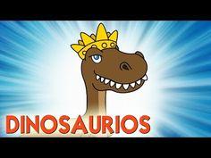 Los Dinosaurios - Toobys - Canciones Infantiles - Videos para niños - YouTube Winnie The Pooh, Pikachu, Disney Characters, Fictional Characters, Teaching, Youtube, Videos, Tortilla, Reno