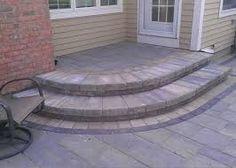 Image result for corner slab steps house