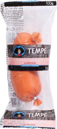 """Colmett d'Alsace """"la Délicieuse"""" saucisse à tartiner Spécialité Alsacienne.Retrouvez tous nos produits #Tempé au rayon libre-service de votre magasin.  Charcuterie Alsacienne #Tempé"""