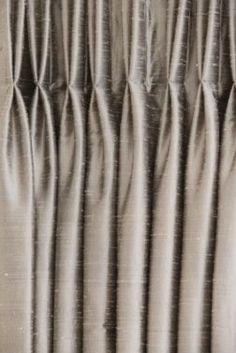 """Buy 95"""" regular curtains, cut off grommet top or fold it over regular top and add drapery tape and sew into place, tada! turn affordable faux silk curtains from Target into Silk draperies for the master bedroom."""