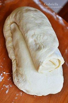 Gabriella kalandjai a konyhában :): Réteges joghurtos-sajtos pogácsa Hungarian Desserts, Hungarian Recipes, Torte Cake, Savory Pastry, Salty Snacks, Best Chicken Recipes, Bread And Pastries, Sweet And Salty, Food And Drink
