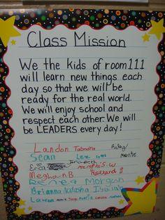7 Habits Mission Statement Guide   Warren County Public Schools