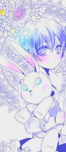 O.S. Black butler spécial noël -Le lapin en peluche