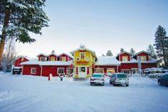 Crazy Reindeer Complex – Hotel White Reindeer I & II in Levi #lapland #christmas