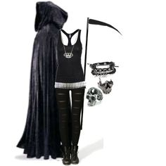Your Time Has Come... by bvb3666 on Polyvore featuring polyvore, fashion, style, L'Agence, Chris Habana and Rock Rebel