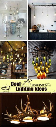 Cool Basement Lighting Ideas!