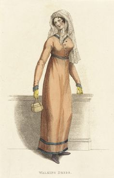Fashion Plate (Walking Dress) | LACMA Collections 1813