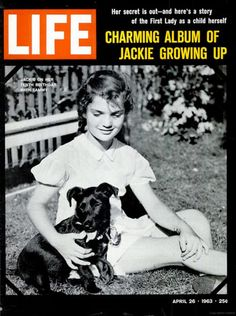 Life Magazine Copyright 1963 Jackie Kennedy Growing Up