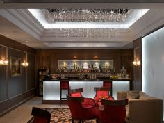 Equus Bar at the Royal Horseguards Hotel - London, Guoman Hotels, STS Design