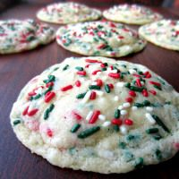 Christmas Funfetti Cookies | Love to be in the Kitchen