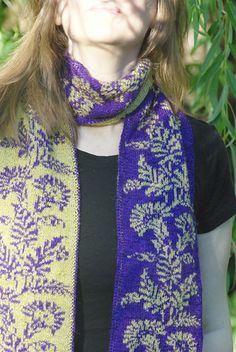 Ravelry: Touch of the Orient Regency Double Knit Scarf pattern by Frivolite Handcrafts