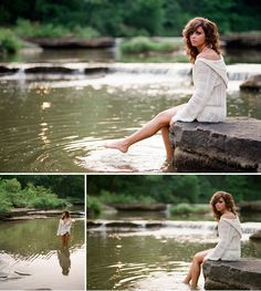 Would have loved to have a senior pic just like this.