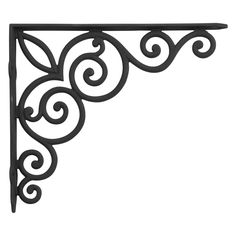 Scroll Corner Bracket Use On A Doorway To Create An Arch
