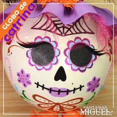 Mexican Style, Halloween 2020, Party Time, Origami, Balloons, Skull, Kawaii, Diy Crafts, Cool Stuff