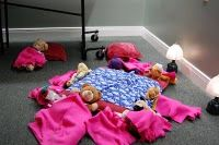 Stuffed Animal Sleepover The sleepover guests were put to bed by their owners and we sang them a lullaby and kissed them goodnight. Sleepover Party, Slumber Parties, Animal Party, Party Animals, Reading Rewards, Library Programs, Programming For Kids, Toys Photography, Crafts To Do