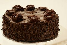 Chocolate Bownie Cake