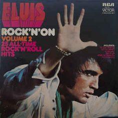 Elvis Presley - Rock 'N' On Volume 2 25 All-Time Rock 'N' Roll Hits Vol 1 and 2  4 Lps $25