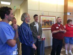 Greater Eastside Chamber members celebrating Resurgens' New Snellville Office