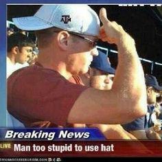 stupid stupid man