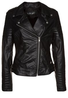 Freaky Nation - PASSENGER - Leather jacket - black