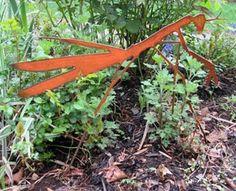 Dragonfly Garden Stake / Garden Decor / Yard Art by RusticaOrnamentals