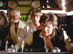 Obi-Wan, Luke and Han
