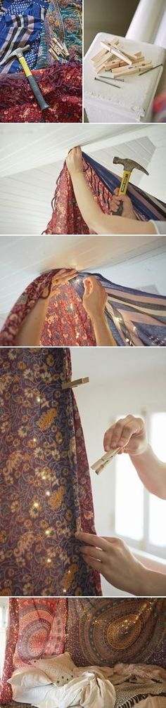UO DIY: Tapestry Canopy http://laboheme.life/