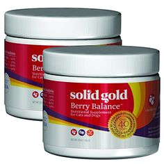 Solid Gold Berry Balance Nutritional Supplement Powder for Dogs