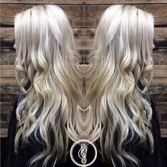 Platinum blonde locks by #AcappellaArtist Monica Picazo and #DavinesColor - book your color refresh at #AcappellaSalon today!