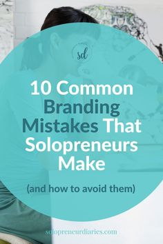 Are you creating a brand for yourself? When you are starting a small business, you need to think about your marketing and brand strategy. Click through for tips on how to avoid these 10 common branding mistakes. | Business Strategy | Business Branding Ideas Entrepreneurship Business Website, Business Tips, Online Business, Strategy Business, Entrepreneur Motivation, Online Entrepreneur, Content Marketing, Affiliate Marketing, Online Logo