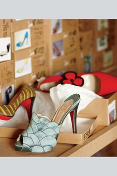 The Christian Louboutin shoe designer studio.    The Collector - WSJ.com